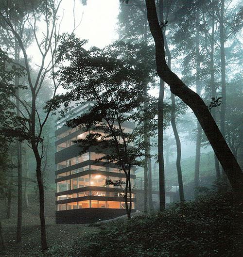 architects takei nabeshima ring house eco vida homes On karuizawa architecture