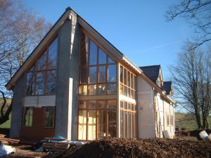 Modern Timber Frame Construction In Spain Eco Vida Homes