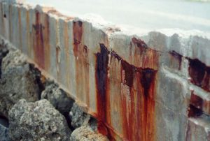 Damaged Reinforced Steel Concrete Spain