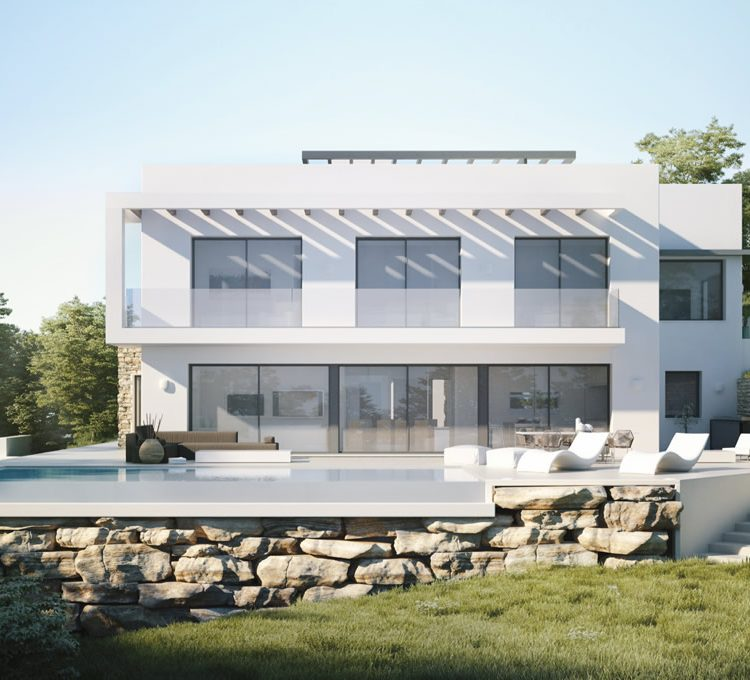 Contemporary architecture marbella