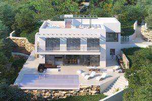 custom design villa