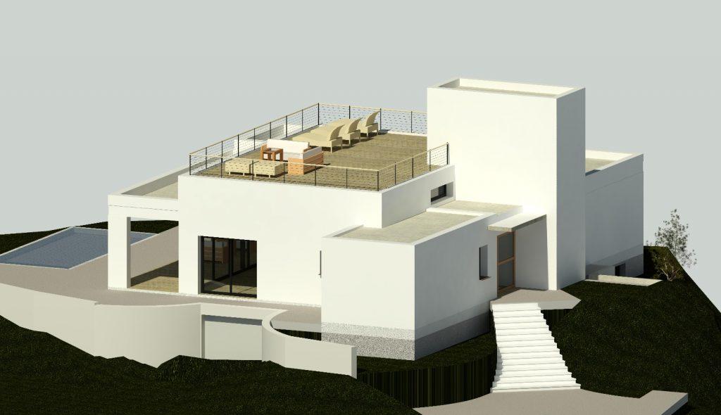 luxury architects design Benalmádena villa
