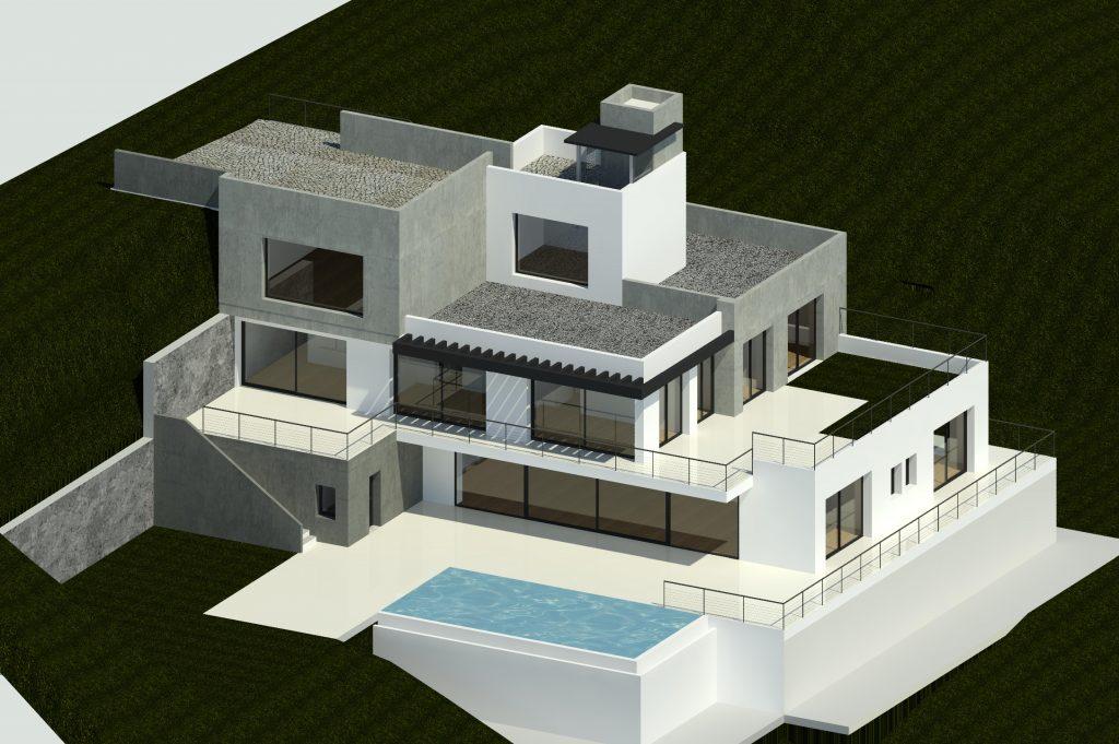 Contemporary Villa design from Marbella architects Eco Vida Homes