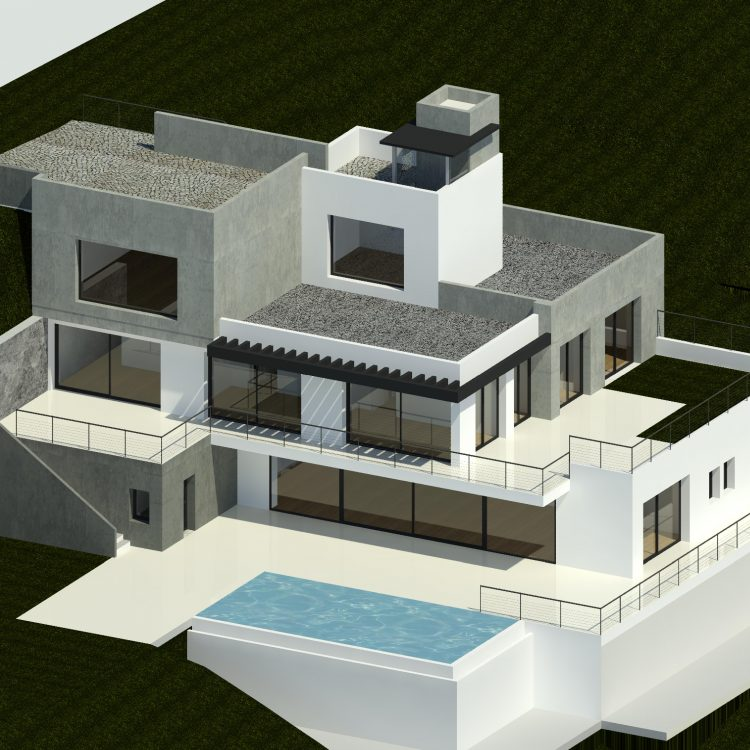 Contemporary Villa design from Marbella architects Eco Vida Homes