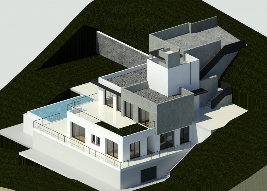 Beautiful villa design by Marbella architect