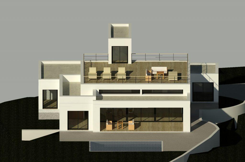 Marbella architects design beautiful villa in Benalmadena