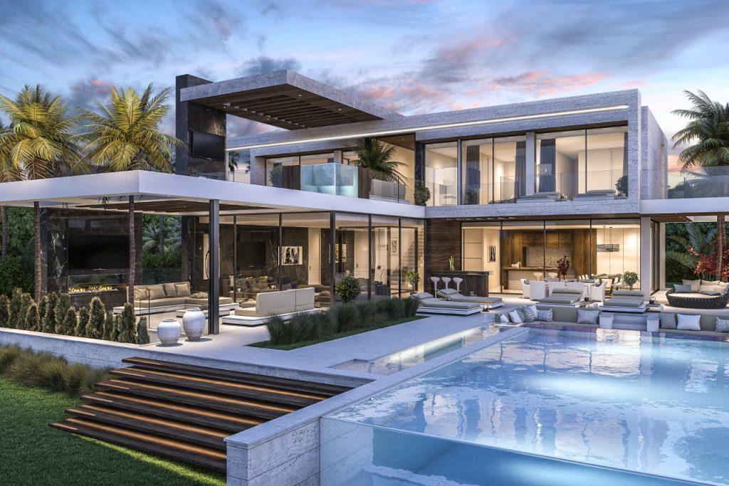 New Build villa in Los Flamingos Benahavis