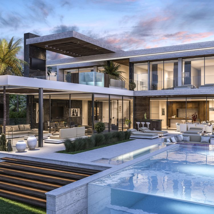New Build villa in Los Flamingos Benahavis