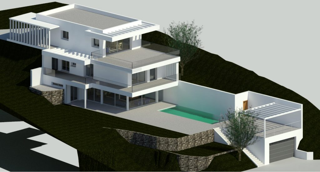 Eco design for a new villa Costa del Sol