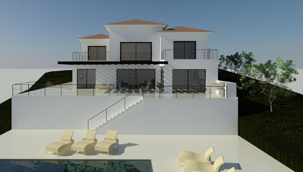 Design a villa in Benahavis