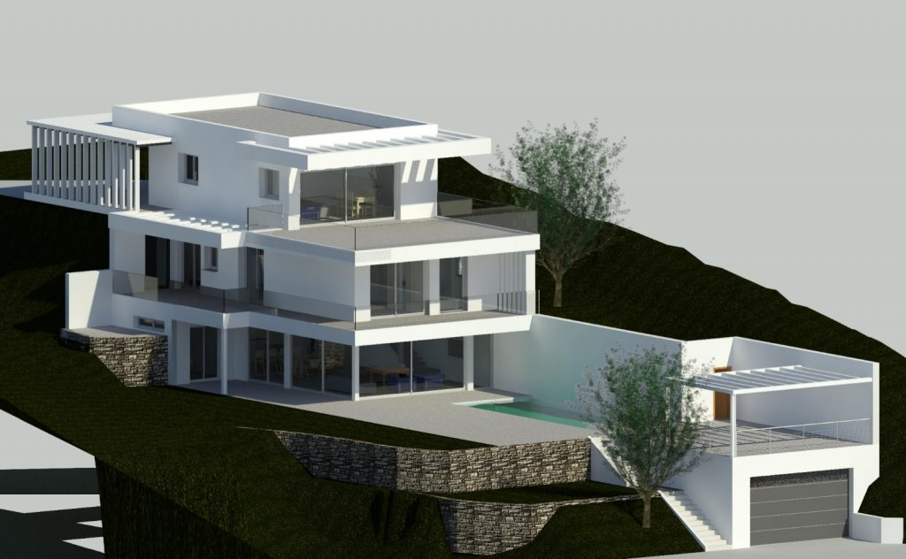 Contemprary Design for a new villa