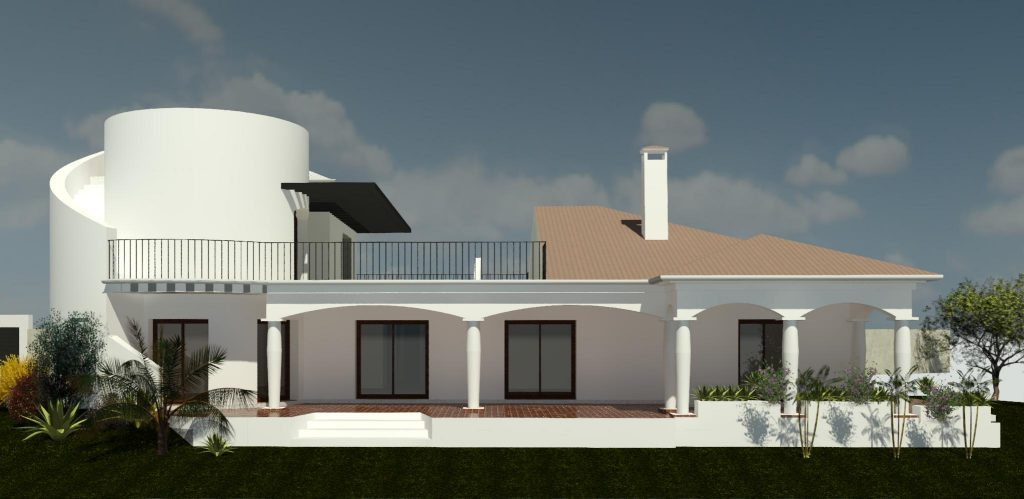 Design an extension to your villa
