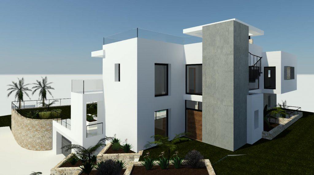 Modern villa design Marbella